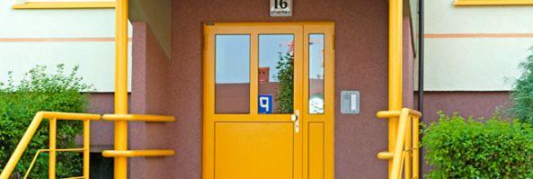 Drzwi zewnętrzne aluminiowe oraz stalowe